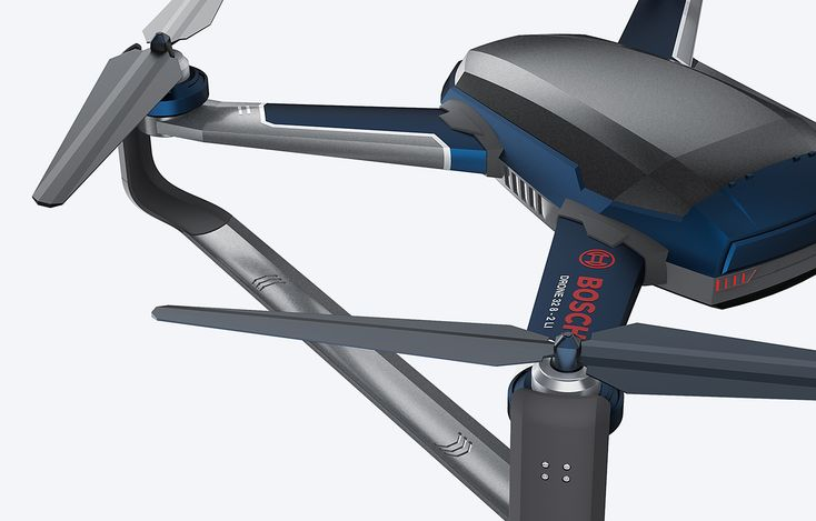 Bosch x Drone for Emergency on Behance