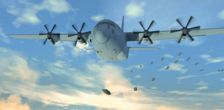 New US military drone will launch and be recovered mid-air from cargo planes