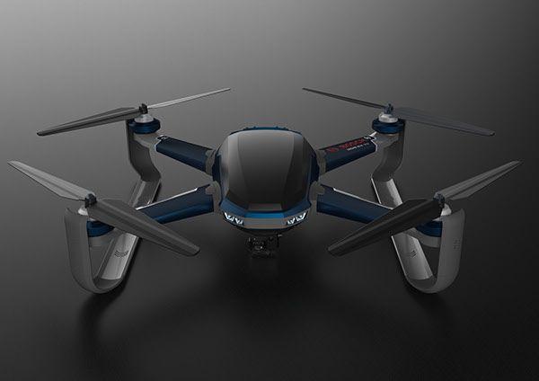 Bosch Emergency Drone Concept Design