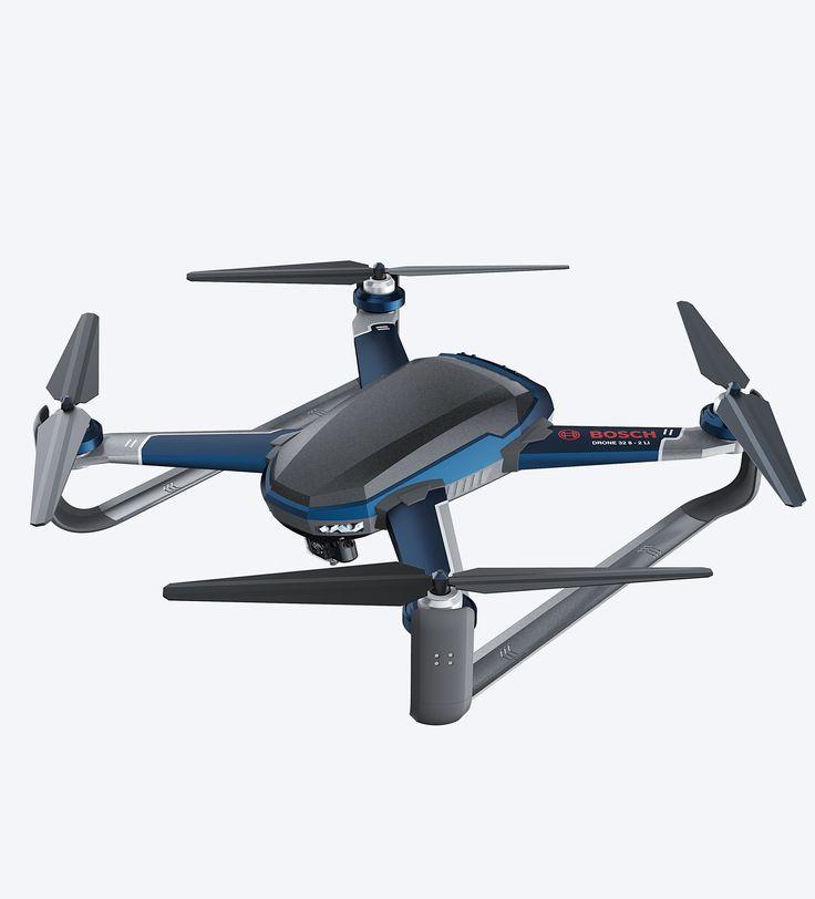 Bosch x Drone for Emergency on Behance