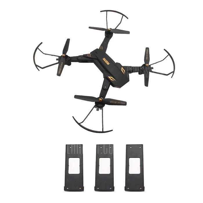 TIANQU VISUO XS809S - $73.99 (5% OFF)  🔥 WiFi FPV Camera RC Drone Quadcopter ...