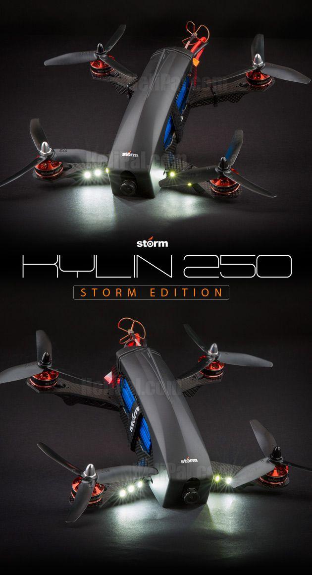 STORM Racing Drone (RTF / Kylin 250 Storm Edition) www.helipal.com/...