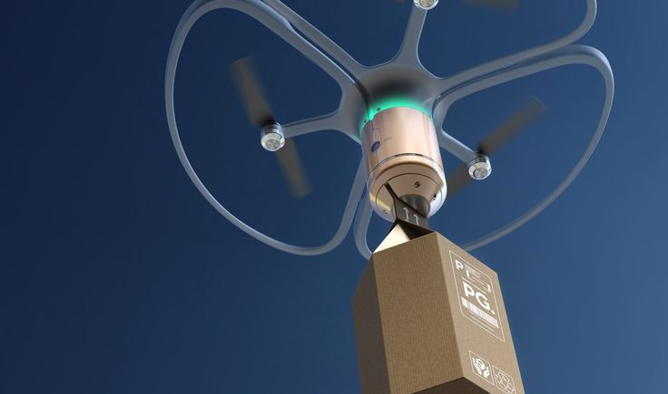 PriestmanGoode unveils concept for city-wide drone delivery system #droneconcept