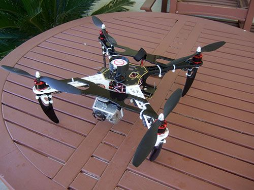 Drone Design : DJI F450 Flame Wheel Multirotor- Custom