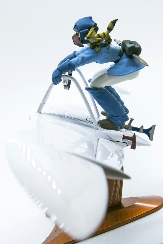[S.F][Bandai] Nausicaa Moeve(뫼베) Built by master modeler adam  from south ko...