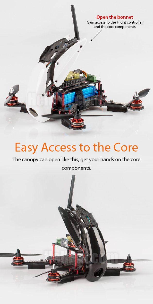 STORM Racing Drone (RTF / SRD280) www.helipal.com/...
