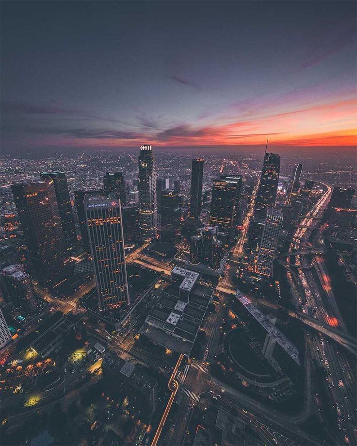 Dylan Schwartz Captures Stunning Sky-High Photos of Los Angeles #inspiration #ph...