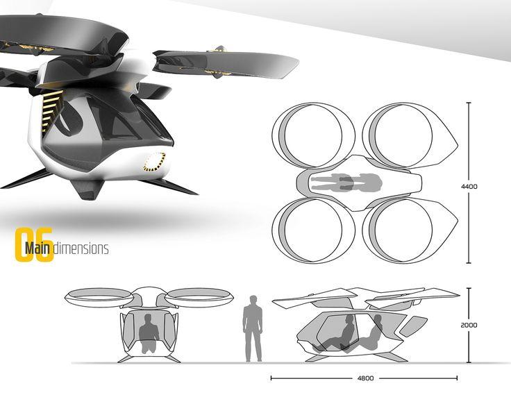 Passenger Drone on Behance