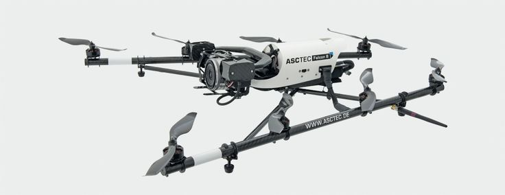 The Ascending Technologies (AscTec) Falcon 8 offers amazing professional image...