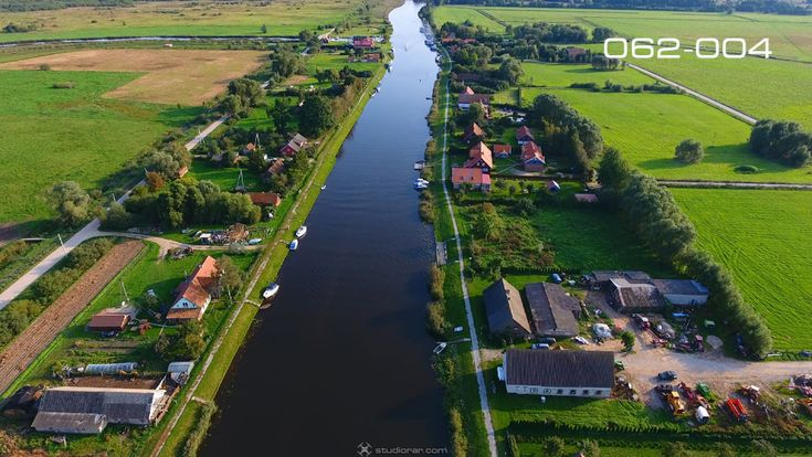 Minge Village Near The Minija River – Drone Aerial Photography, Videography Se...