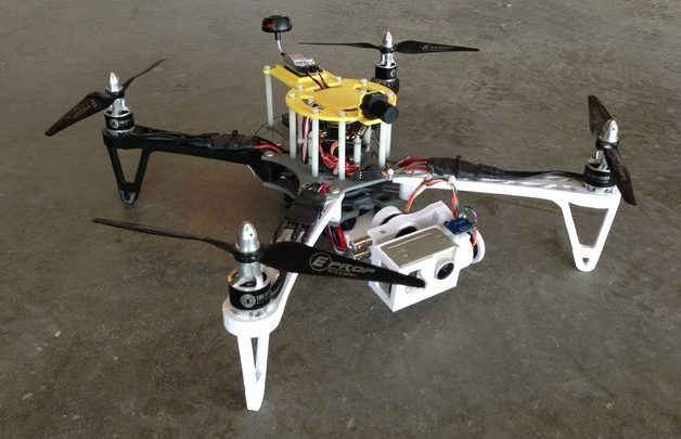 Drone Design : 3D Printed FPV Quadcopter The Crossfire by
