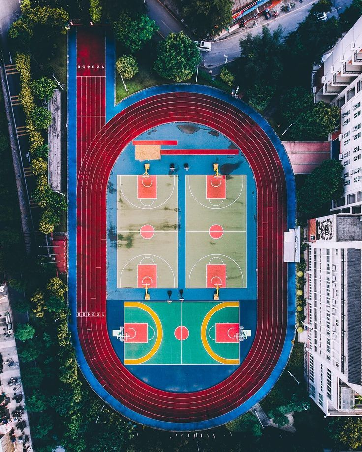 Drone Photography B' for Basketball Featured Artist: Nancy Kennedy (Instagram) _...