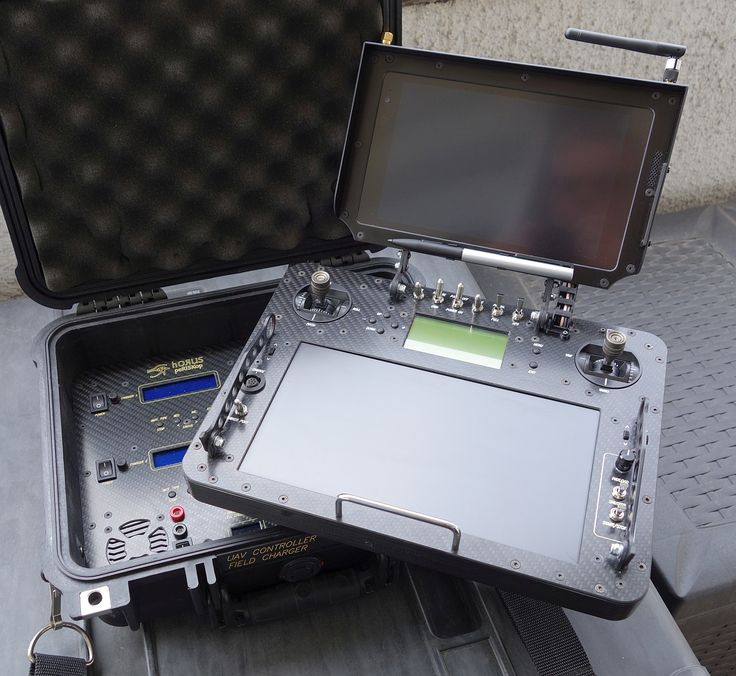 Full function mission control station with fold-up telemetry head – DIY Drones