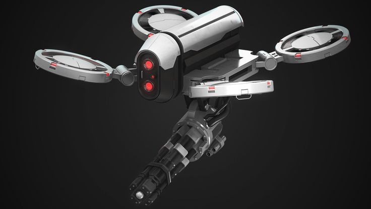 Fun & quick killer drone concept built and rendered in Modo.   My Polycount Sket...