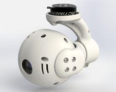 GimBALL - 3D printed DIY Gimbal with closed hull - PART1 (design) – DIY Drones