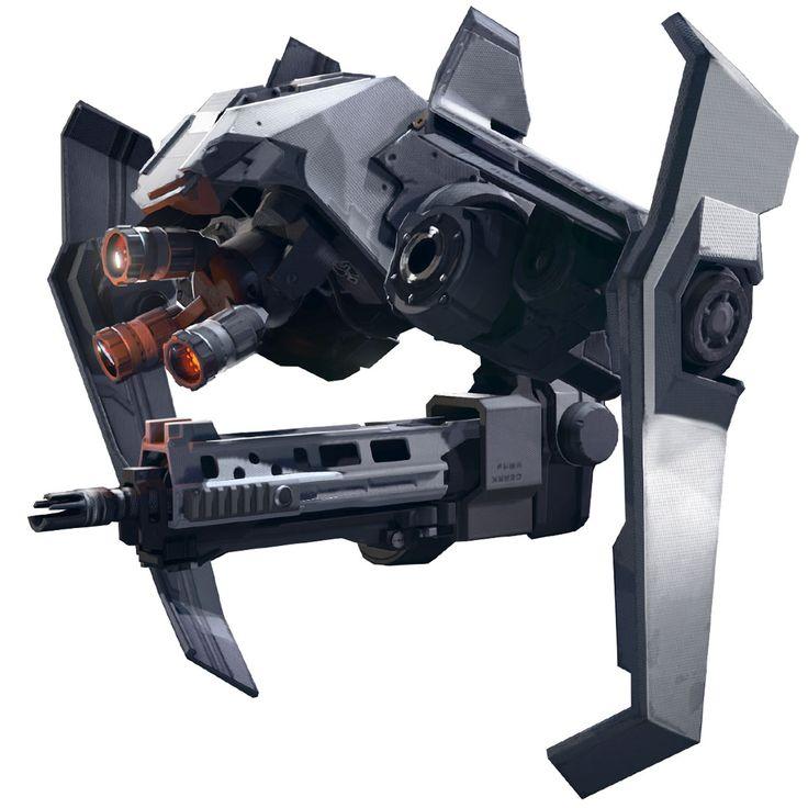 Helghast Buddy Drone - Killzone shadow fall (Guerrilla Games