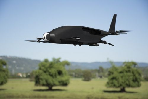 A transformer drone that hovers like a copter, flies fast and efficient like an ...