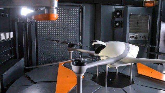 Airobotics' drone platform (Courtesy)