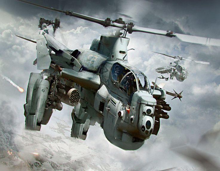 ArtStation - Helicopter, Carlos Alberto