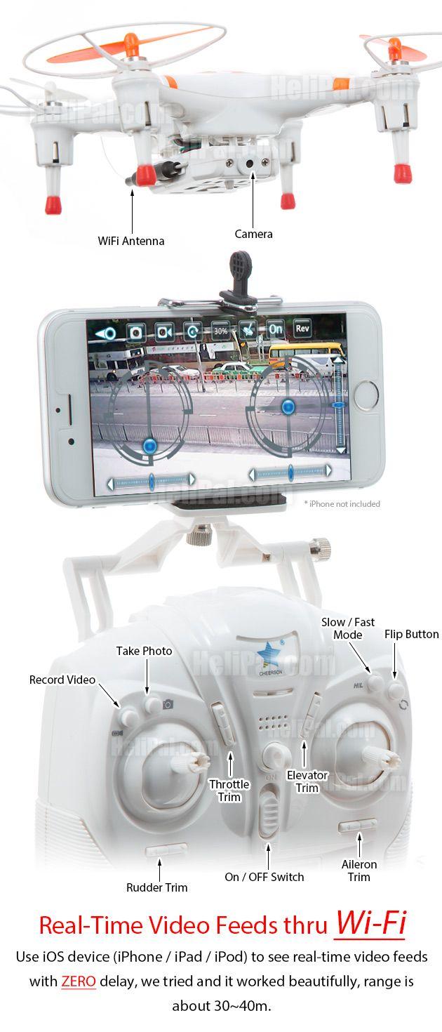 Cheerson CX-30W Wi-Fi FPV Drone