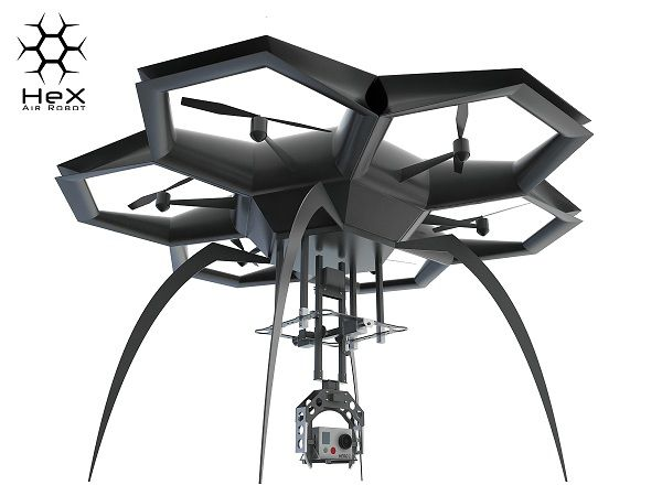 Chinese startup HeX drone 01