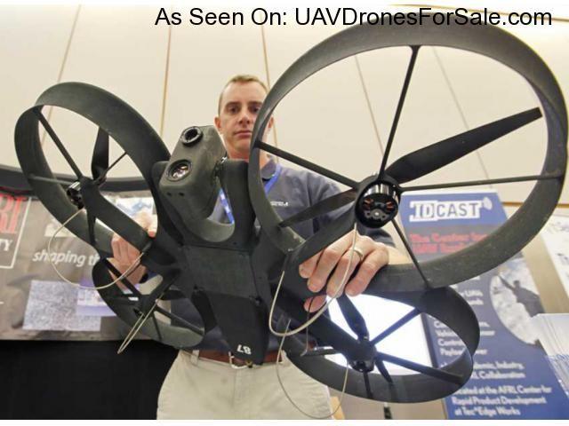 CyberQuad MAXI, Rapidly Deployable, Professional Quadrotor VTOL Unmanned Aerial ...