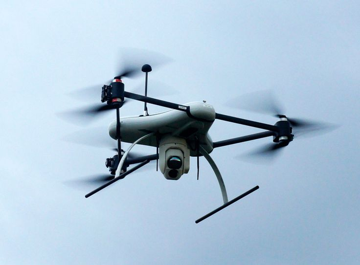 Da-Vinci multi-rotor tricopter unveilled by Flying Productions at AUSA is a tric...
