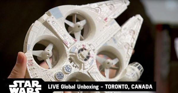 Disney is selling a Millennium Falcon drone starting tomorrow