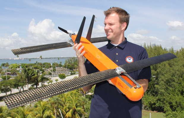 Drones can help predict paths of hurricanes | Instead of dropping parachuted sen...