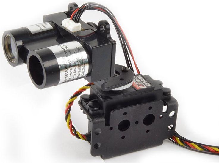 LIDAR-Lite Laser Rangefinder - Simple Arduino Sketch of a 180 Degree