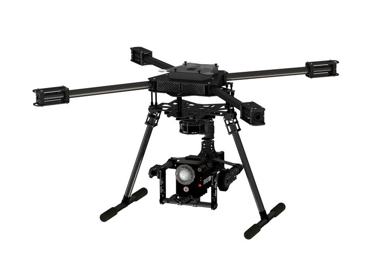 Multi Copter with gimbal for RED