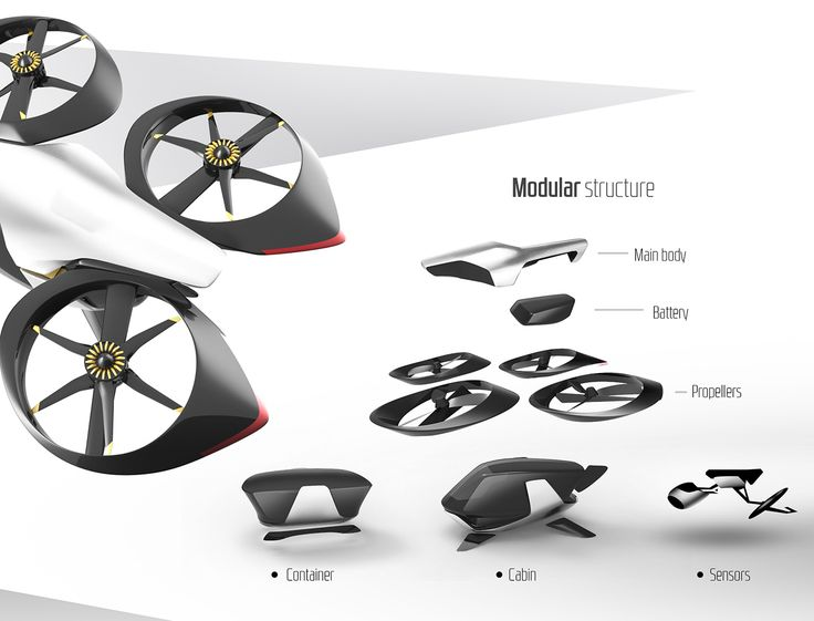 Passenger Drone on Behance