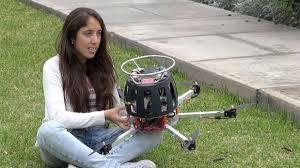 Studentessa inventa il drone che rileva l'inquinamento - Faq Drone Italy