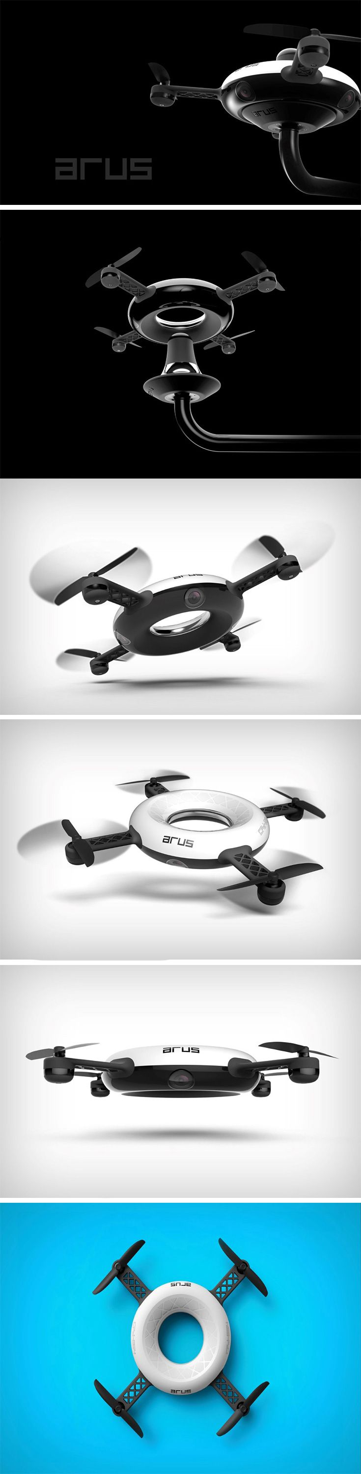 The ARUS drone is designed for release during emergency situations as a first re...