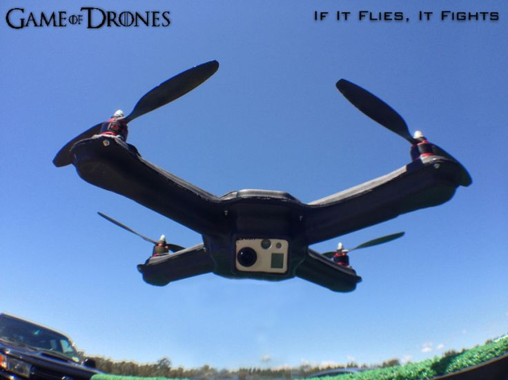 The Flying Squirrel - DIY aerial quadcopter drone - Game of Drones