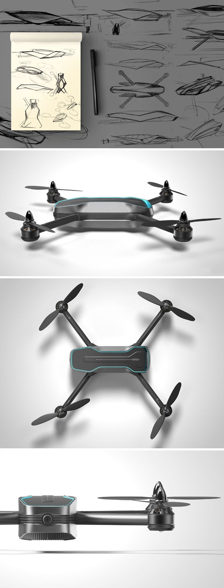 The airX drone combines the best of customizability and efficient construction t...