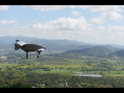 Vertex hybrid drone combines hovering and fixed-wing flightThe canard-style airc...