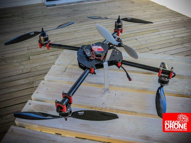 W4RP DR1VE moster quad! - DIY Drones