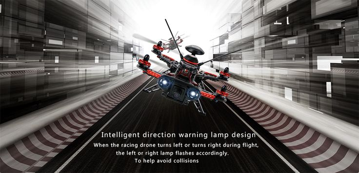 Walkera: Runner 250 (R) Advanced GPS Racing Quadcopter Drone Arrives Ready to Fl...