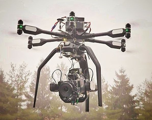World's First ARRI Alexa XT Micro-Aerial Flight With AeroCine: