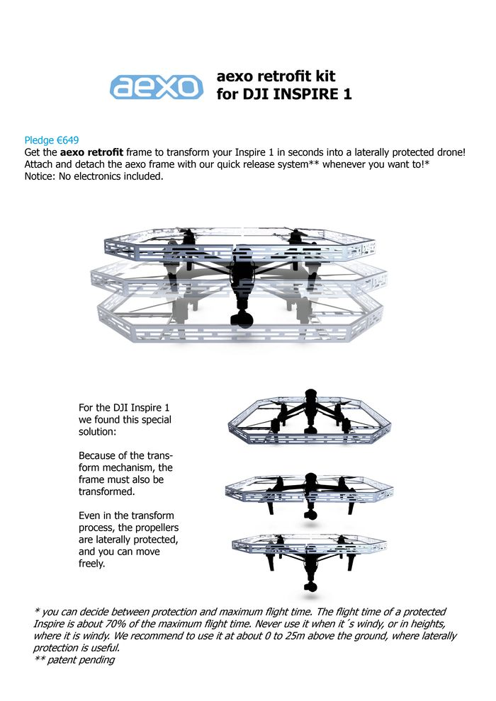 aexo - the protector drone by aexo — Kickstarter
