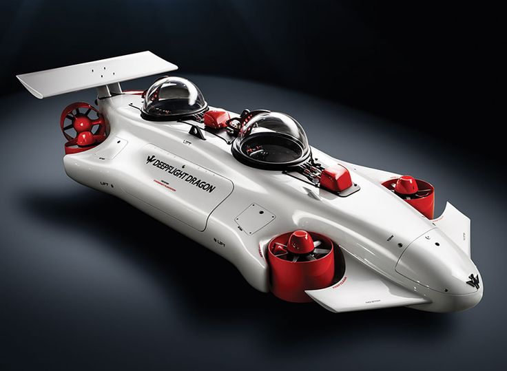 the undersea aquahoverer is a two-seater personal submarine