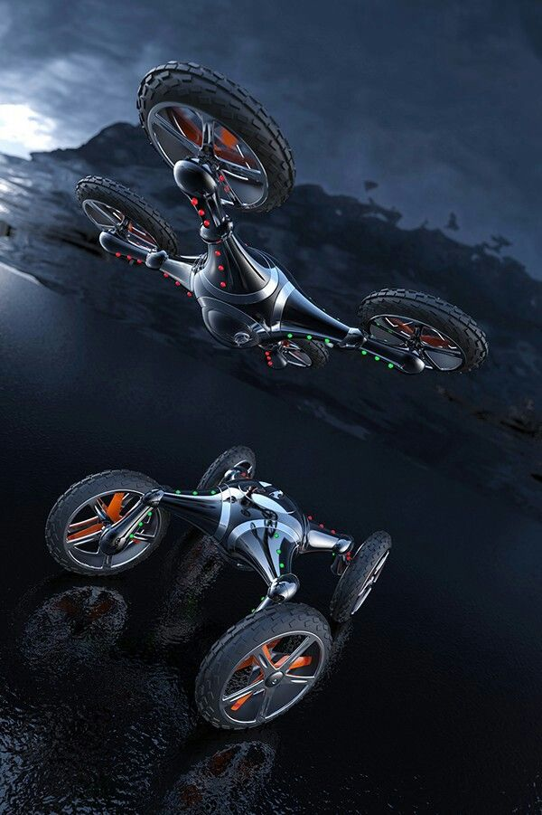 Imagine this as an actual hover bike. - Have a quadcopter yet? Christmas IS Here...