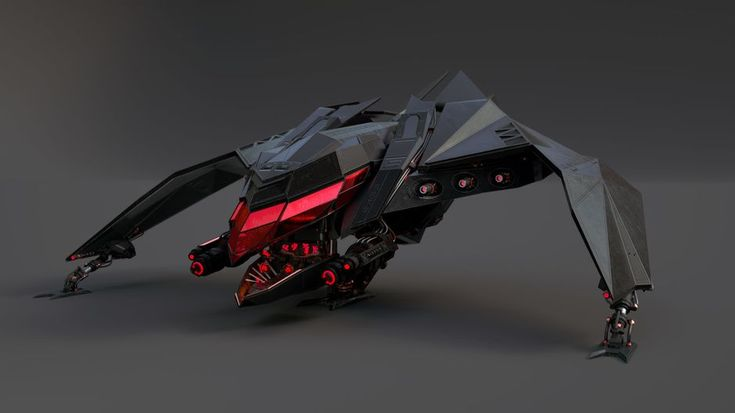 M.A.G - M Spacefighter by Maurice Baltissen   Robotic/Cyborg   3D   CGSociety
