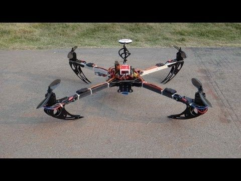 New OFM Jumper 600 Low Cost and Powerful DIY FPV Quadcopter - Click Here for mor...