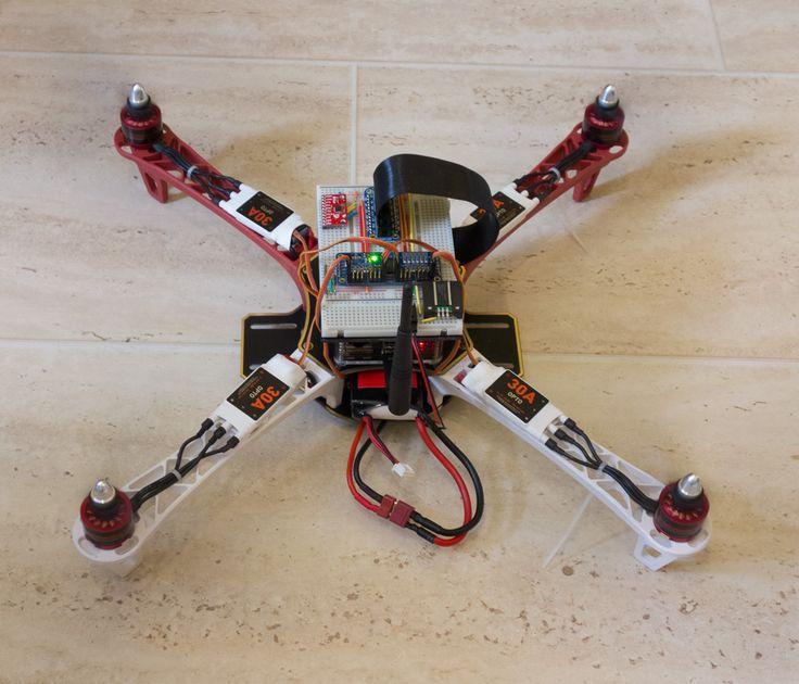 QuadCopter Raspberry Pi project   Check out arduinohq.com  for cool new arduino ...