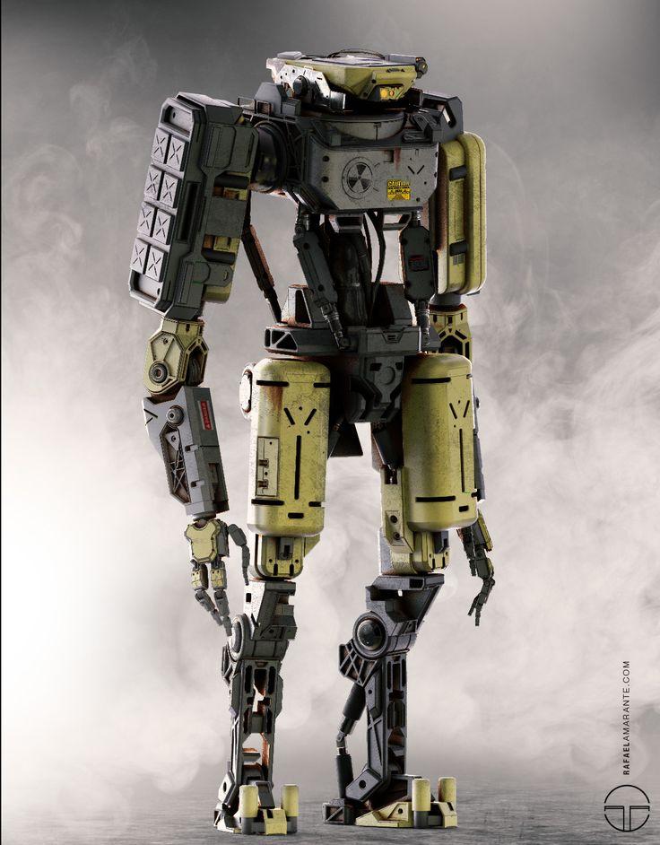 Robot_Concept , Rafael Amarante on ArtStation at www.artstation.co...