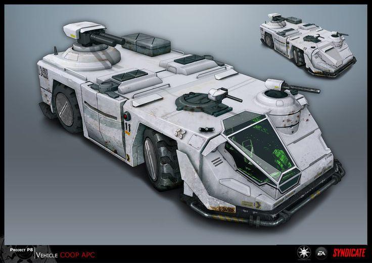 SYNDICATE concept - vehicle APC by *torvenius on deviantART