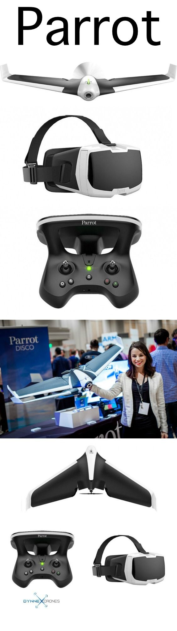 This Parrot Disco is super fun to fly and easy for any level flyer! Drones are A...