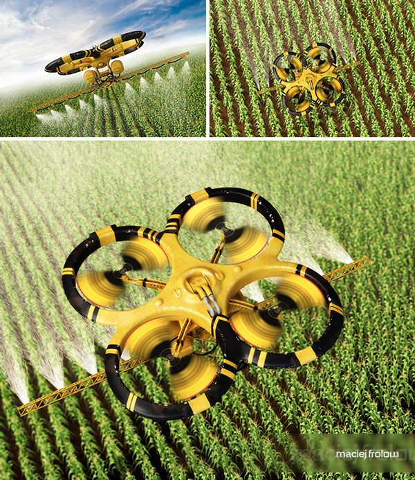 Utility Done - Agriculture by Maciej Frolow [The Future of Agriculture: futurist...